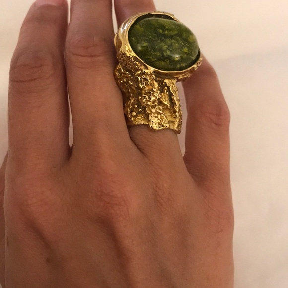 167205cd945 Yves Saint Laurent Jewelry | Arty Cocktail Ring Size 5 | Poshmark